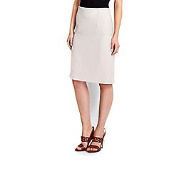 Wallis - Grey a-line skirt