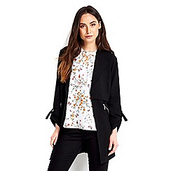 Wallis - Black duster jacket