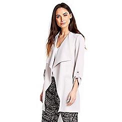 Wallis - Grey duster jacket