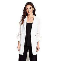 Wallis - Ivory duster jacket