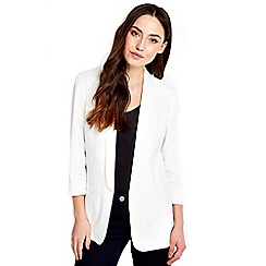 Wallis - Ivory fitted blazer