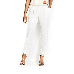 Wallis - Ivory skinny tapered trouser