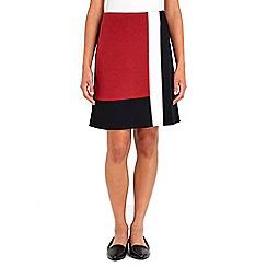 Wallis - Colour block skirt