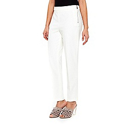 Wallis - Ivory orchid sienna trousers