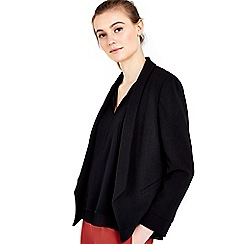 Wallis - Black lined jacket