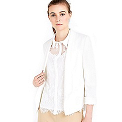 Wallis - Ivory lined jacket