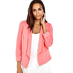 Wallis - Coral lined jacket