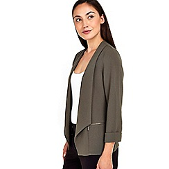 Wallis - Khaki short jacket