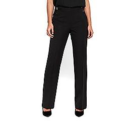 Wallis - Black boot cut trousers