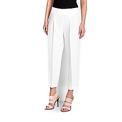 Wallis - Ivory pleated trouser
