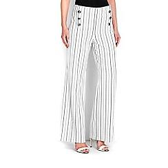 Wallis - Monochrome stripe trouser