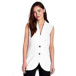 Wallis - Ivory waistcoat