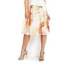 Wallis - Orange skirt