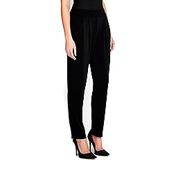 Wallis - Black pull on trousers