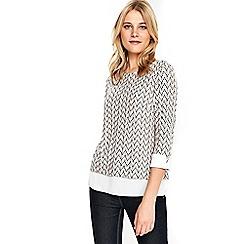 Wallis - Blush layered top