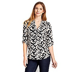 Wallis - Abstract geometric print shirt
