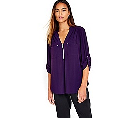 Wallis - Purple jersey shirt
