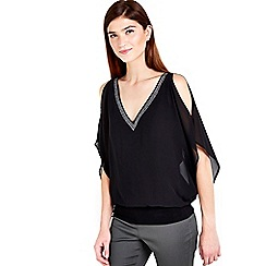 Wallis - Black blouse top