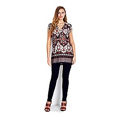 Wallis - Paisley printed tunic top