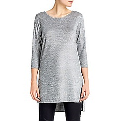 Wallis - Split side silver top