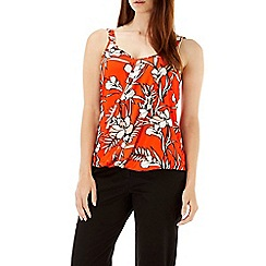 Wallis - Tropical floral printed cami
