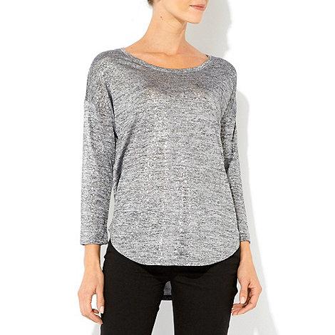 Wallis - Grey splatter top