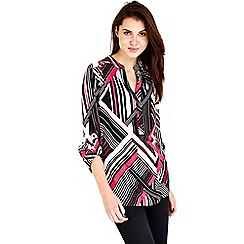Wallis - Pink stripe shirt