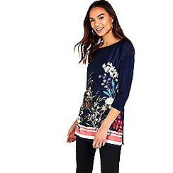 Wallis - Floral printed tunic top