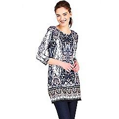Wallis - Paisley printed tunic