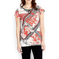 Wallis - Floral printed shell top