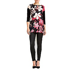 Wallis - Bold floral front top