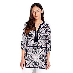 Wallis - Flower print tunic top