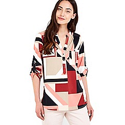 Wallis - Blush printed shirt