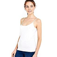 Wallis - White camisole top