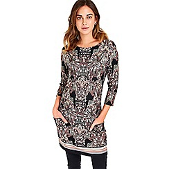 Wallis - Paisley Print Tunic Top