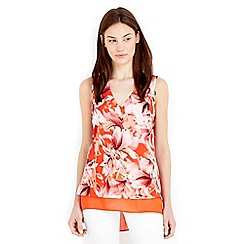 Wallis - Floral printed vest top