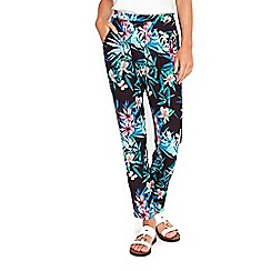 Wallis - Black floral trousers