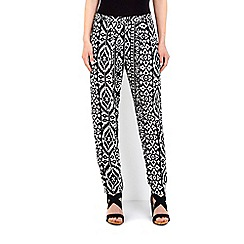 Wallis - Monochrome printed trouser