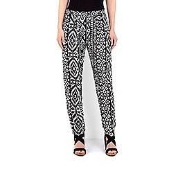 Wallis - Monochrome printed trouser