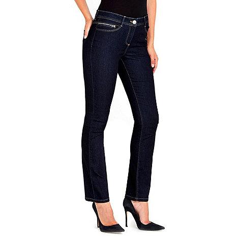 Wallis - Indigo straight leg jean