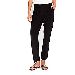 Wallis - Black plain trousers