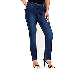 Wallis - Harper midwash straight jeans