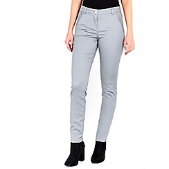 Wallis - Grey side zip trousers
