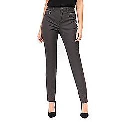 Wallis - Grey zip pocket trousers