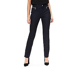 Wallis - Navy zip pocket trouser