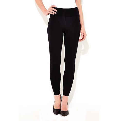Wallis - Black high waisted leggings