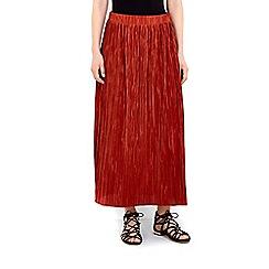 Wallis - Rust maxi skirt