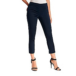 Wallis - Navy capri trousers