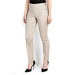 Wallis - Stone slim leg trouser