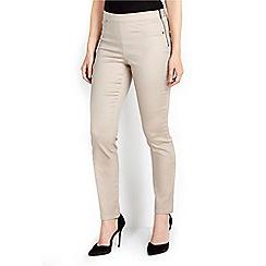 Wallis - Stone slim leg trouser